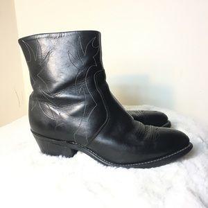 Laredo Long Haul Cowboy Boot Black 9.5